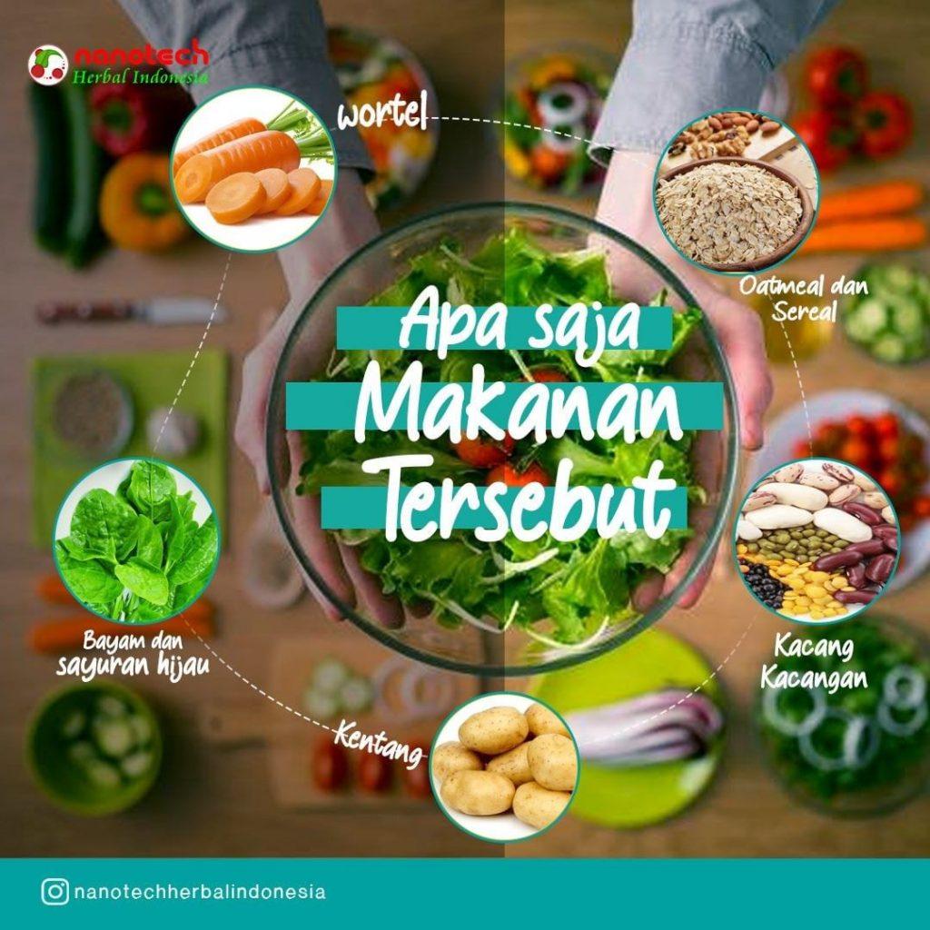 makanan pengendali kolesterol