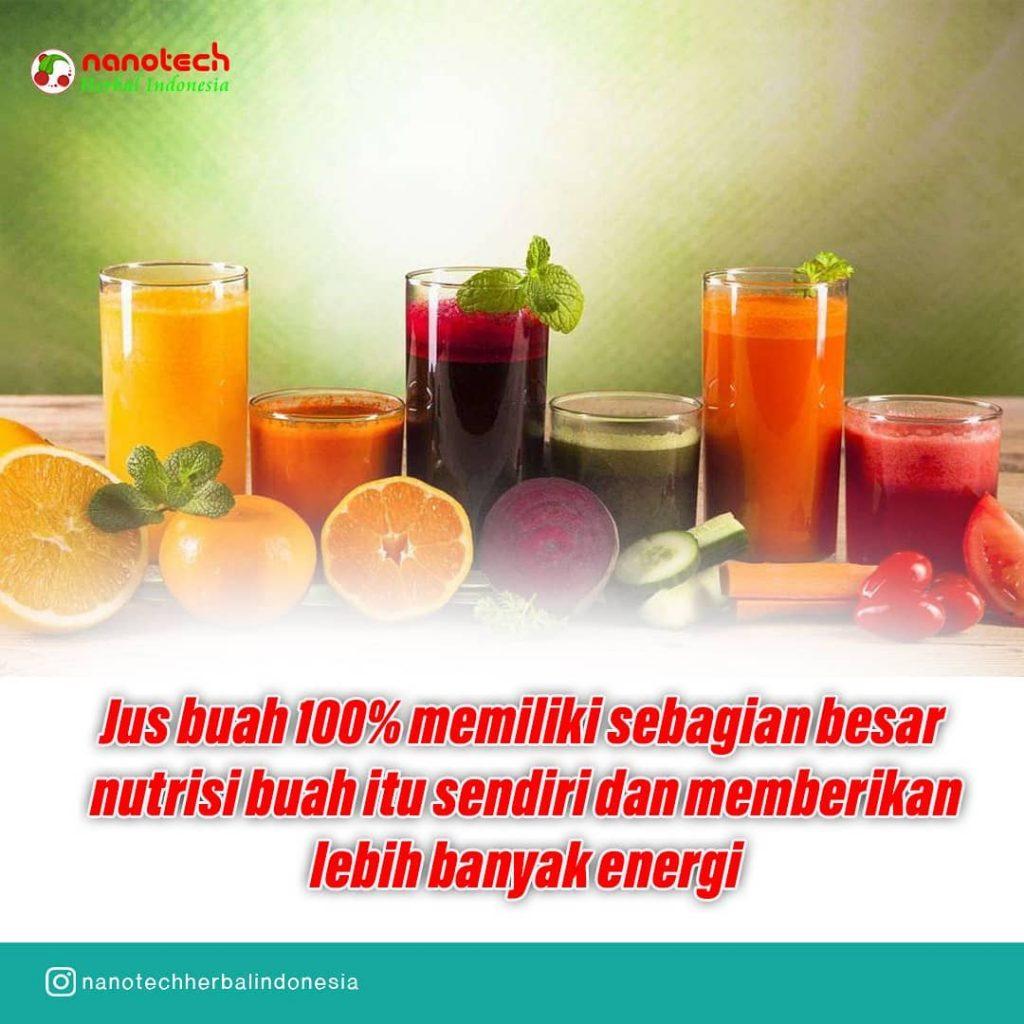 jus buah 100% nutrisi
